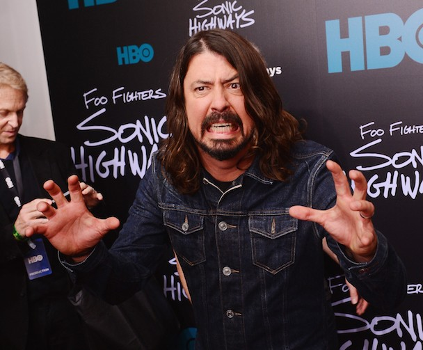 Dave Grohl Weighs In On Taylor Swift Vs. Spotify