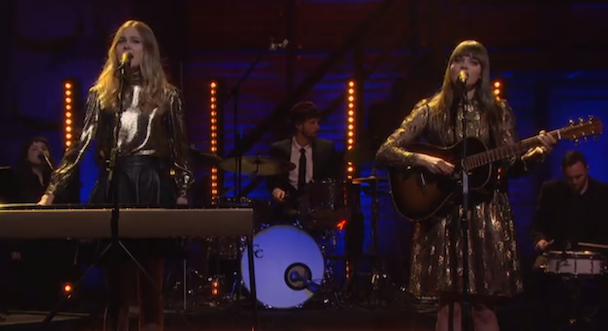 Watch First Aid Kit Play &#8220;Stay Gold&#8221; On <em>Conan</em>