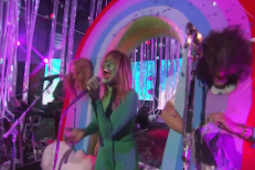 Watch The Flaming Lips Bring The Beatles To Kimmel