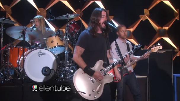 Watch Foo Fighters Play Ellen