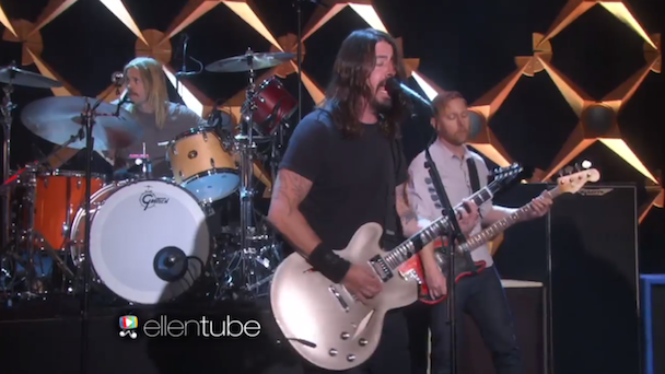 Watch Foo Fighters Play <em>Ellen</em>