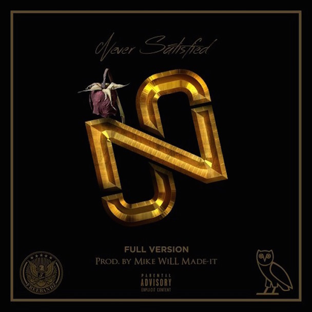 """Future – """"Never Satisfied"""" (Feat. Drake)"""