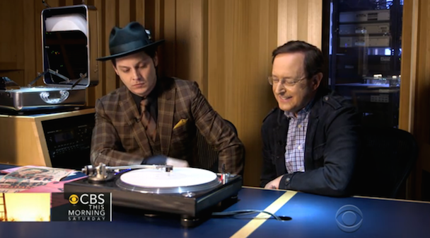 Watch Jack White Discuss Paramount Records On <em>CBS This Morning</em>