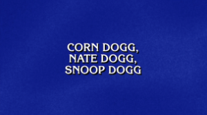 Jeopardy! Couldn't Fool Anyone With Its Dumb Fake Rapper Names