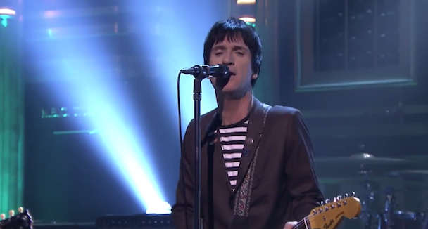 "Watch Johnny Marr Play ""Stop Me If You Think You've Heard This One Before"" On Fallon"