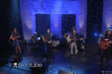 "Watch The New Basement Tapes Play ""Kansas City"" On Ellen"