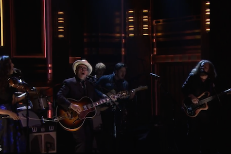 Watch The New Basement Tapes' Live Debut On Fallon
