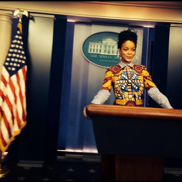President Rihanna