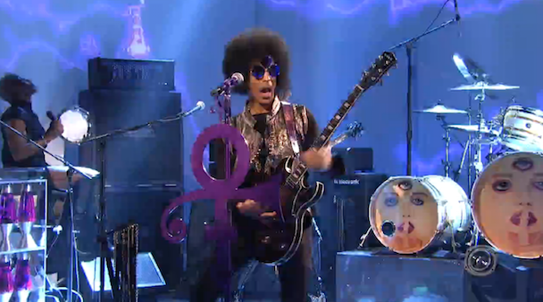 Watch Prince's Mighty Return To SNL In Third Eye Sunglasses