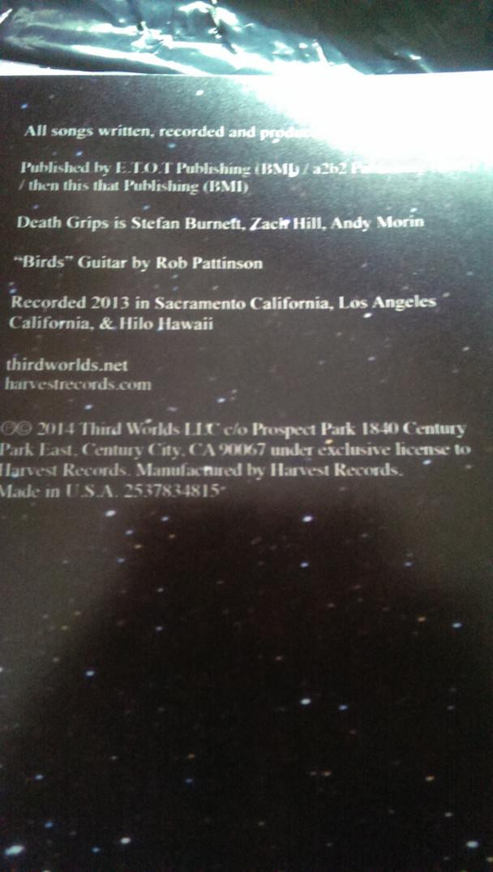 New Death Grips Vinyl Reveals Robert Pattinson Played
