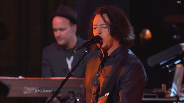 """Watch Tears For Fears Play """"Everybody Wants To Rule The World"""" & """"Sowing The Seeds Of Love"""" On Kimmel"""