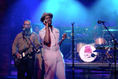"Watch TV On The Radio Perform ""Happy Idiot"" on Letterman"