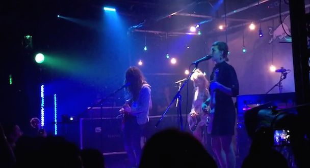Watch Warpaint Perform With Kurt Vile In L.A.