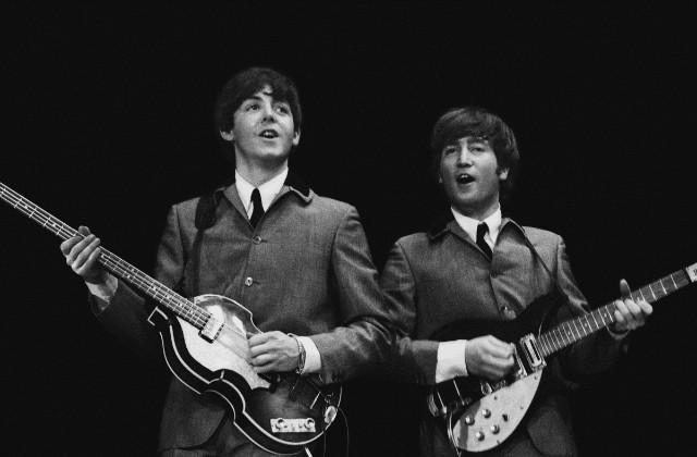 """Watch 550 Celebrities Answer """"Lennon Or McCartney?"""""""