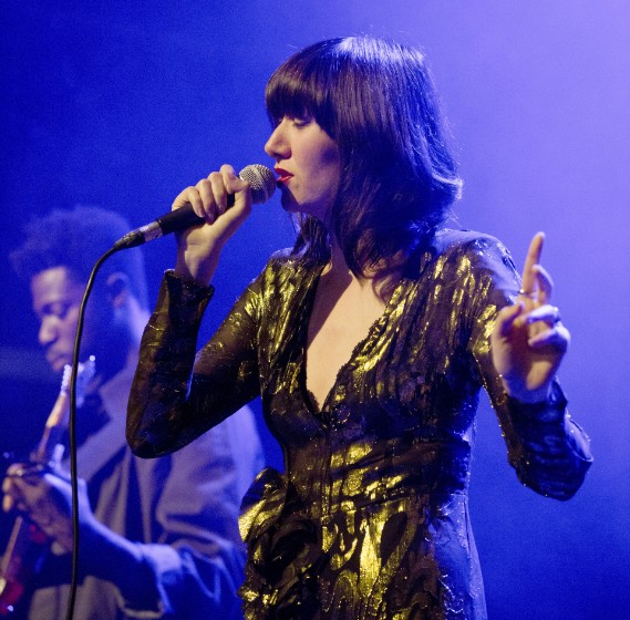 Karen O Performs In Berlin
