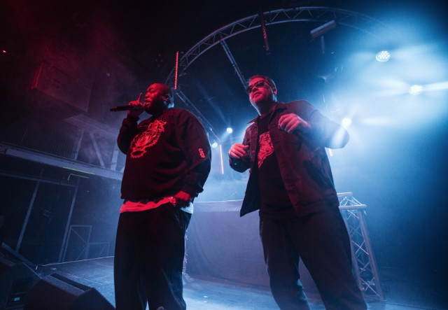 Run The Jewels Perform At Garage In Glasgow