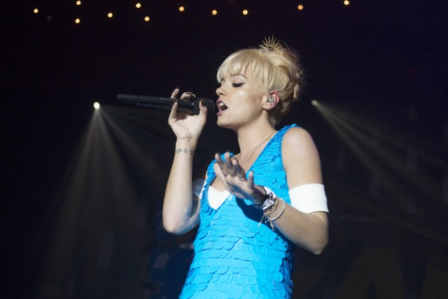 Lily Allen Performs At Brixton Academy In London