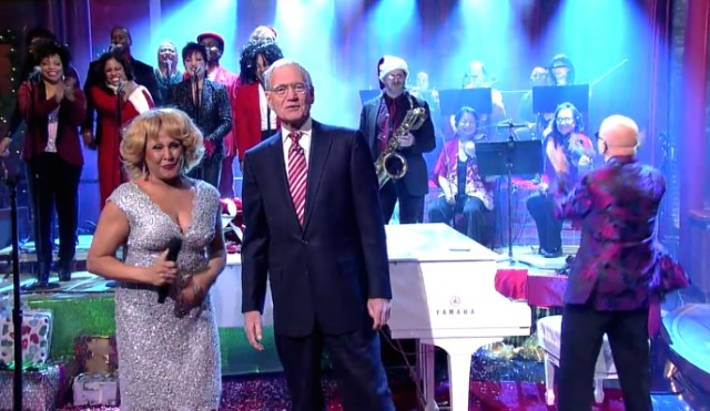 Darlene Love on David Letterman