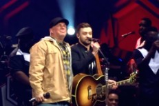 Garth Brooks and Justin Timberlake