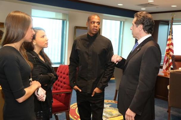 Jay Z Meets With Gov. Cuomo To Discuss Criminal Justice Reform