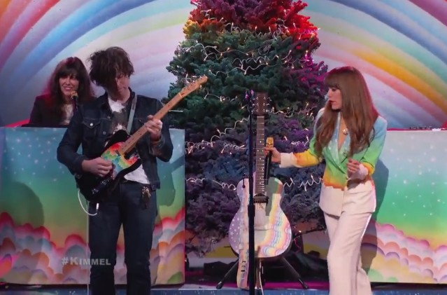 Jenny Lewis and Ryan Adams on Kimmel