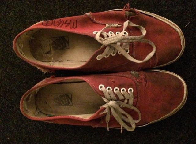 Mac DeMarco sneakers
