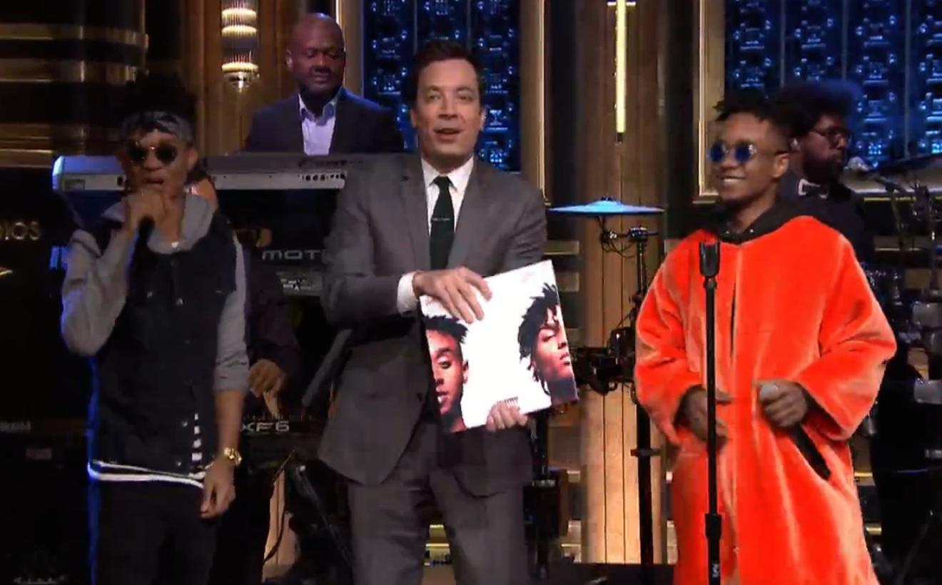 Watch Rae Sremmurd Play <em>The Tonight Show</em> With The Roots