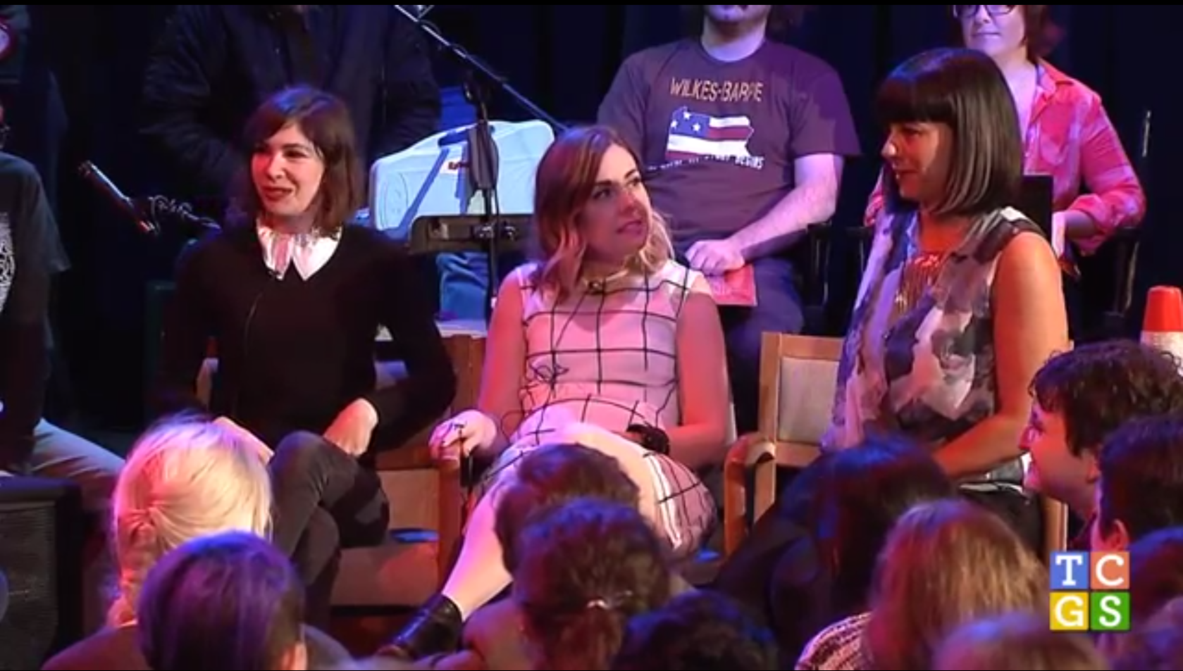 Watch Sleater-Kinney Play A Game Called &#8220;All Hands On The Bad One&#8221; On <em>The Chris Gethard Show</em>