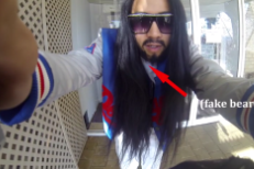 Watch This Guy Impersonate Steve Aoki At An EDM Festival And Become A Magnet For Selfies