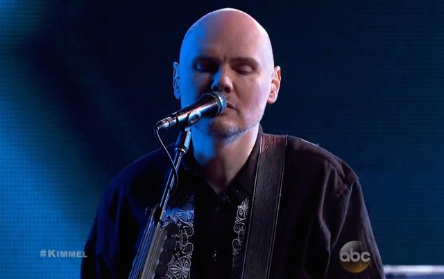 The Smashing Pumpkins on Kimmel