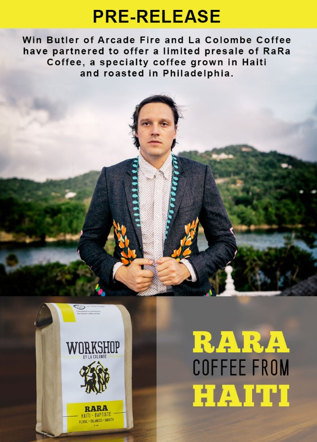 Win Butler coffee