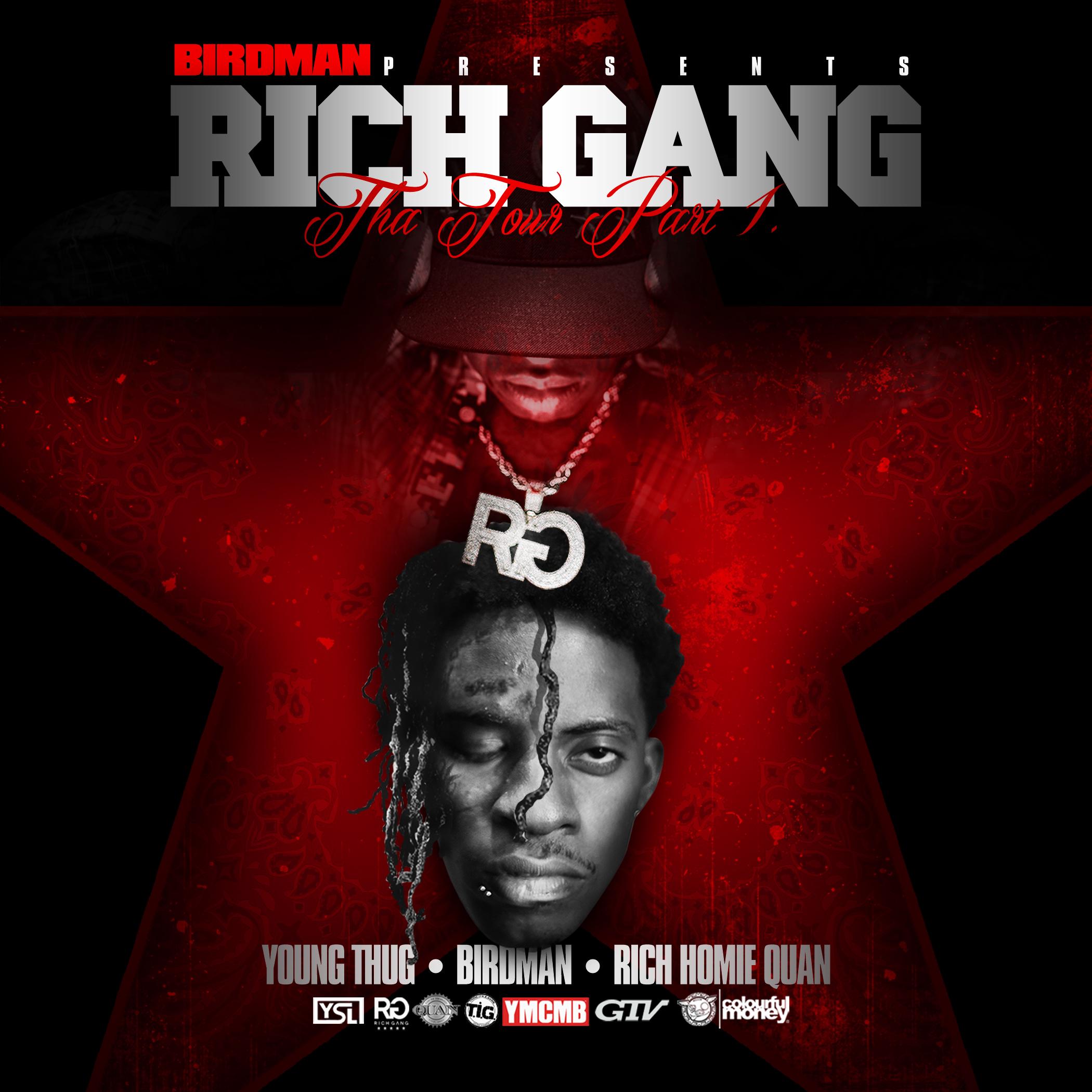 Young Thug, Birdman & Rich Homie Quan - Rich Gang: Tha Tour Part 1
