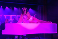 "Watch Charli XCX Perform ""Need Ur Love"" With Vampire Weekend's Rostam Batmanglij On Letterman"