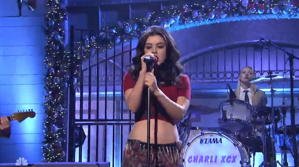 Watch Charli XCX Play <em>SNL</em>