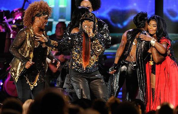 Watch Missy Elliott, Lil' Kim, & Da Brat Reunite On The Soul Train Awards