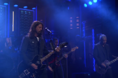 """Watch Foo Fighters Perform """"I Am A River"""" On Fallon"""