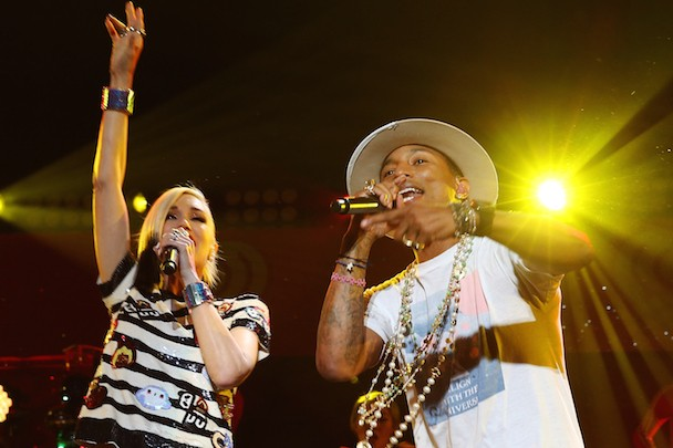 "Gwen Stefani & Pharrell - ""Shine"""