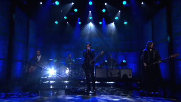 "Watch Interpol Perform ""My Desire"" On Conan"