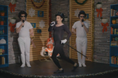 "Watch The Lonely Island Perform ""I'm A Hustler"" On Comedy Bang! Bang!"