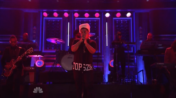 Watch iLoveMakonnen Perform &#8220;Tuesday&#8221; With The Roots On <em>The Tonight Show</em>