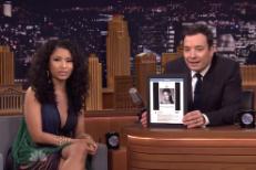 "Watch Nicki Minaj Perform ""Bed Of Lies"" With Skylar Grey On Fallon"