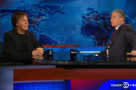 Watch Paul McCartney Joke Around With Jon Stewart On <em>The Daily Show</em>