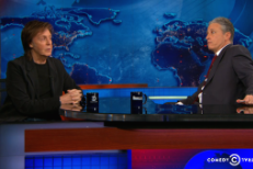 Watch Paul McCartney Joke Around With Jon Stewart On The Daily Show