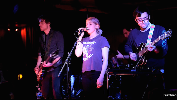 "Watch Zosia Mamet's Band Chacha Play Their Debut Single ""Too Good"" In NYC"