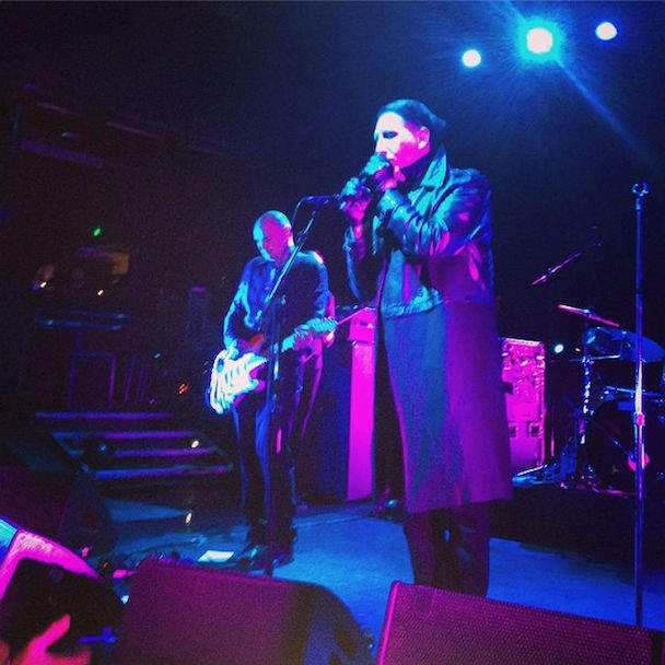 "Watch Marilyn Manson Sing ""Ava Adore"" With The Smashing Pumpkins In London"