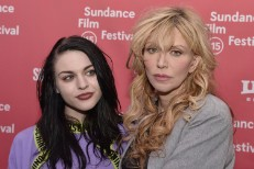Frances Bean Cobain & Courtney Love @ Sundance 2015