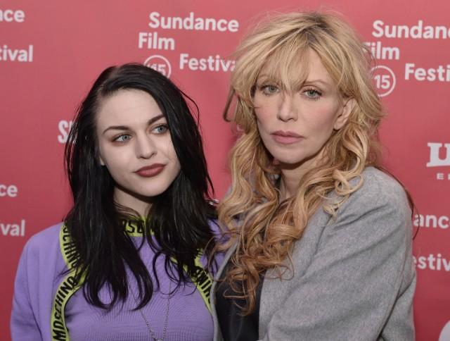 Frances Bean Cobain & Courtney Love @ Sundance 2015