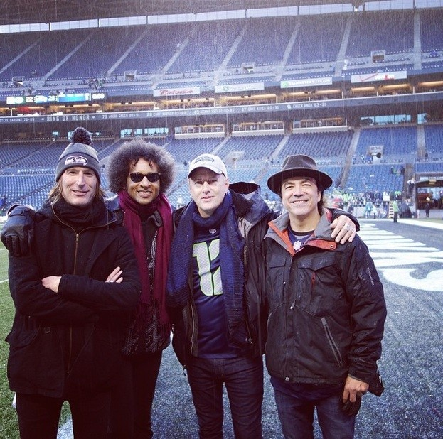 Alice In Chains at Seahawks