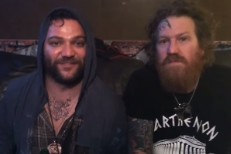 Bam Margera and Brent Hinds