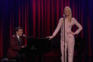 Watch Jimmy Fallon & Gwyneth Paltrow Sing Broadway Versions Of Drake, Nicki Minaj, & Big Sean